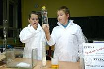 Noc vědců ve slánském gymnáziu