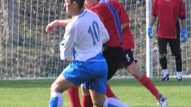 Ani útočník Suchý svoje šance neproměnil, jeho Vraný potupně podlehlo doma 0:3.