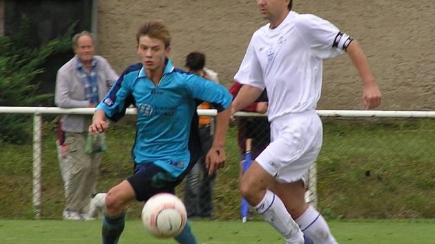 S vítěznou Družcí slavil také Marek Liška (vpravo).