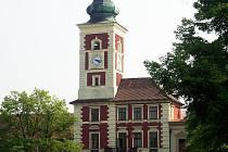 Centrum města Slaný.