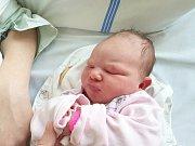 VICTORIA DALLA VILLA, KOŠTICE. Narodila se 11. dubna 2018. Po porodu vážila 4,06 kg a měřila 53 cm. Rodiče jsou Andrea Kořanová a Daniel Dalla Villa. (porodnice Slaný)