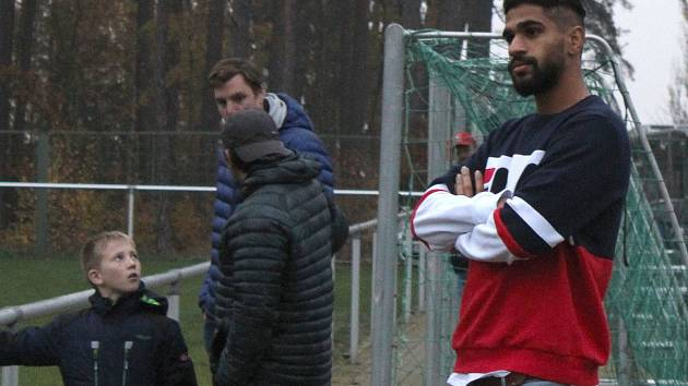 Lhota - Spartak Příbram 0:1 PK. Hvězdný klokan Júsuf Hilál