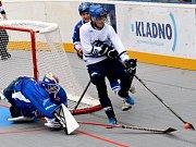 Ilustrační foto z utkání Alpiq Kladno -  Pardubice.