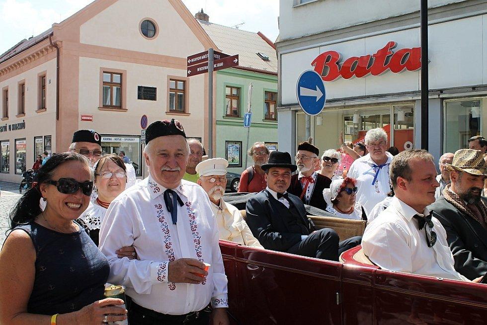 Slánský okruh 2018 navštívil v rámci oslav 100. výročí založení Československa i prezident T.G. Masaryk