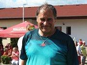 90. let fotbalu v AFK Tuchlovice. Kouč Dan Drahokoupil