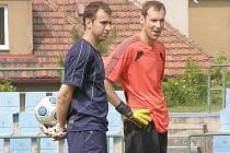 Filip Toncar a Petr Čech.