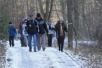 Na trasu po okolí Družce se nakonec vydalo 460 pochodníků.