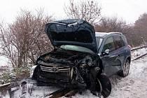 Podobná nehoda jako v sobotu se stala u Velké Bučiny už 6. ledna.