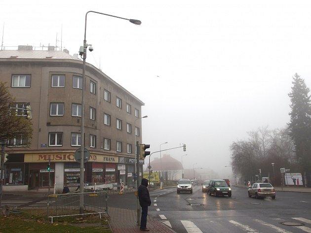 Nová kamera byla umístěna na křižovatce ulic I. Olbrachta a P. Bezruče.