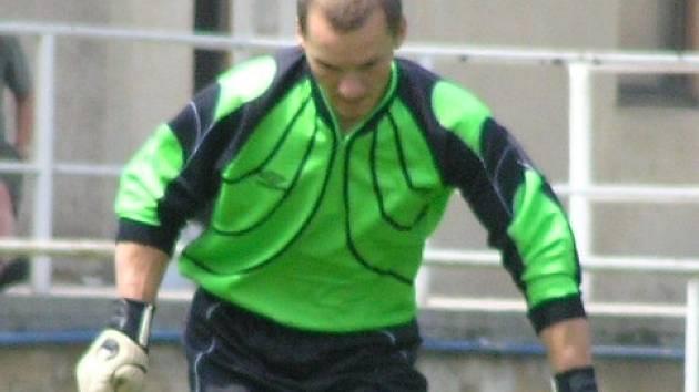 Brankář Michal Majtaník patří mezi tahouny Velvar.
