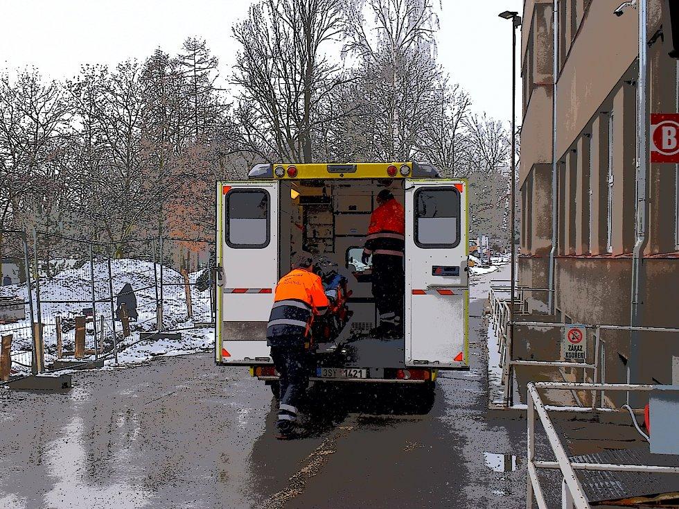 Nemocnice ve Slaném.