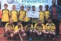 Vítězné družstvo 3. ZŠ Slaný