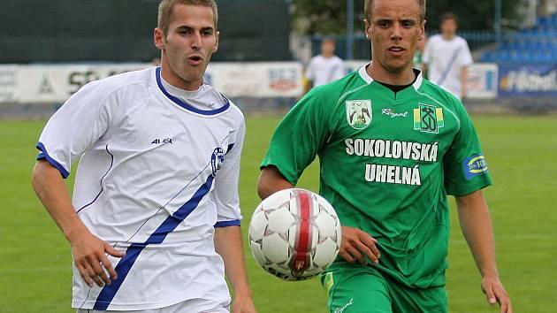 Jiří Kabele a Jakub Blažek // SK Kladno - Banik Sokolov 3:3 (2:0)  , utkání 29.k. 2. ligy 2010/11, hráno 4.6.2011