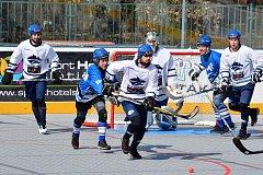 hokejbal, extraliga: Kladno - Letohrad