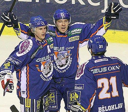 Kladno dává první gól ve čtvrtfinále play-off.