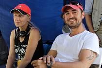 Režisér Biser Arichtev (vpravo)