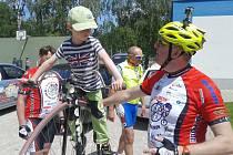 Cyklotour Na kole dětem zavítala také do Družce.