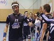 Kanonýři Kladno - Florbal Chomutov, 1. liga mužů, Kladno, 18. 2. 2018