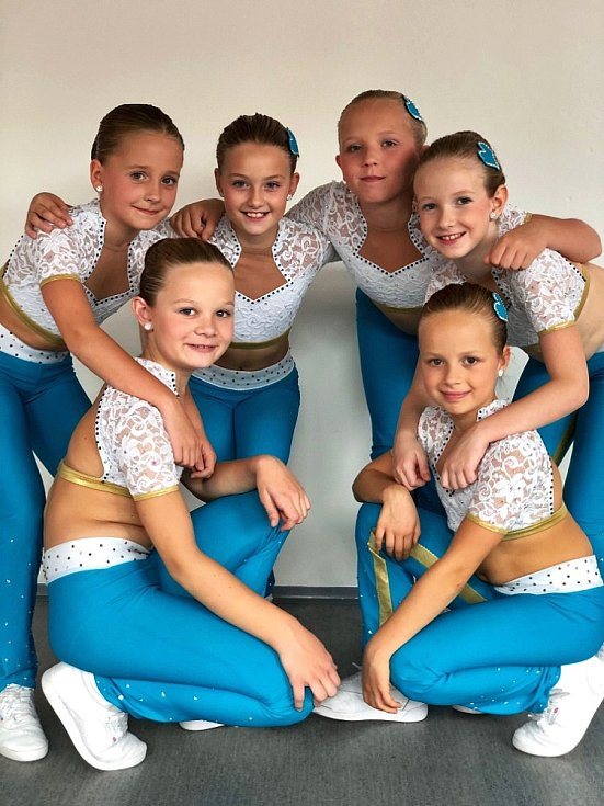 MČR aerobik 2019. Dancers Kladno, 8-10 let