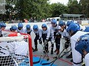 Slavnostní otevření zrekonstruované hokejbalové arény Kladno.