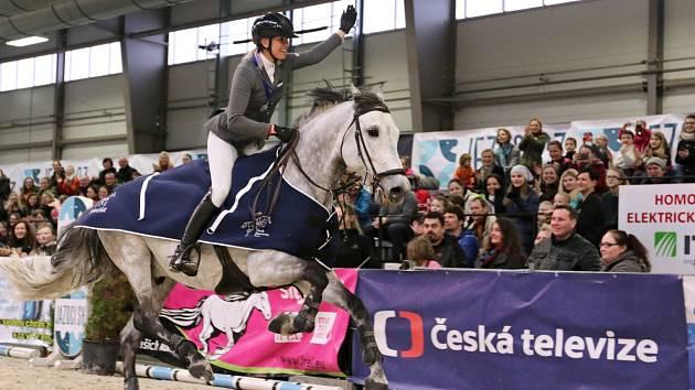 Jezdecký festival v Královicích u Slaného.