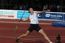 Světová rekordmanka a dvojnásobná olympijská šampionka v hodu oštěpem Barbora Špotáková