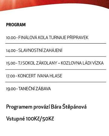 Program oslav Sokola Zákolany