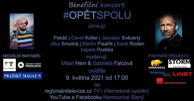 Benefiční koncert pro slánskou nemocnici.