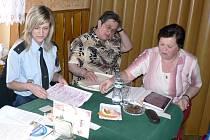 Hojné zastoupení na besedách strážníků měly členky Českého svazu žen.