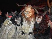 V Pcherách na Kladensku se uskutečnilo třetí Pcherské čertovské rejdění.