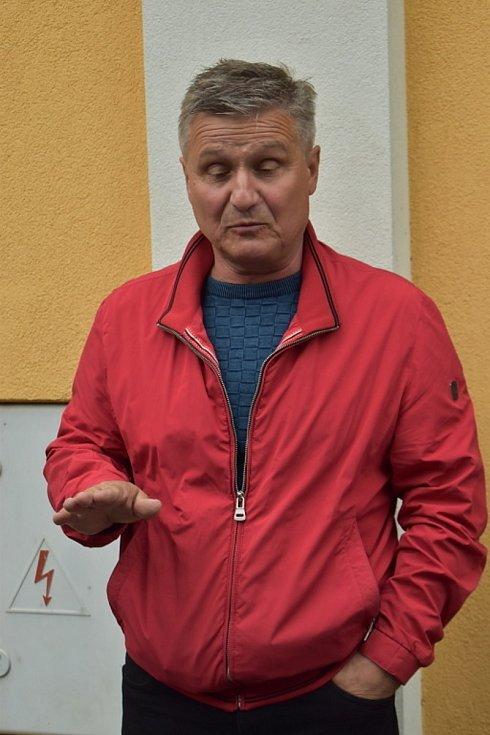 Místostarosta městysu Vraný Zdeněk Bláha.