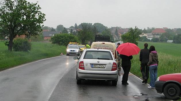 Středa byla na Kladensku ve znamení nehod