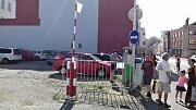 Parkovací automat nahradil výběrčí budku s obsluhou.