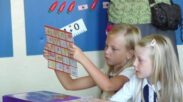 První školní den v buštěhradské Základní škole Oty Pavla