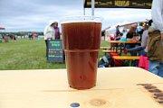 Na pivních slavnostech mohli návštěvníci ochutnat několik desítek značek piva.
