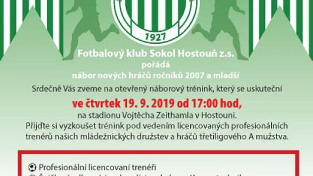 Nábor Sokola Hostouň