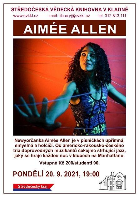 Aimée Allen - plakát.