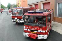 Den otevřených dveří u kladenských hasičů.