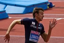 Silnou zbraní Christopha Lemaitra je v závodech na 200 metrů první části trati v zatáčce.