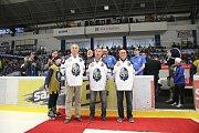 Kladno - Chomutov, domácí slavili s plným stadionem postup do extraligy