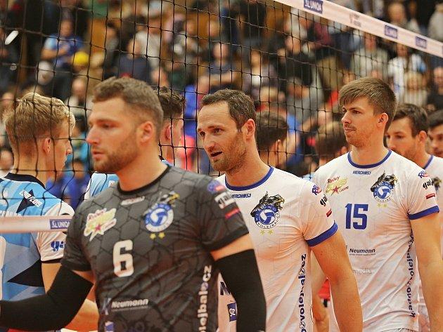 Kladno volejbal cz - VK Ostrava 3:0, Extraliga volejbalu, Kladno, 27. 10. 2018