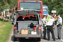 Tragická dopravní nehoda se stala v neděli v Blahoticích u Slaného
