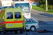 Muž krátce po srážce s felicií na místě zemřel.