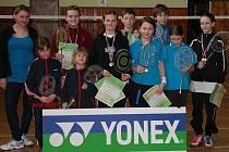 Badmintonové mládí v Kladně