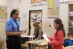 Přednáška strážníků na téma šikana.