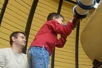 Výlety do hvězdárny milují ze všeho nejvíce děti