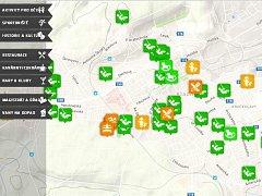 MAPAKLADNA.CZ nabízí přehledně možnosti například sportovního či kulturního vyžití ve městě Kladně.