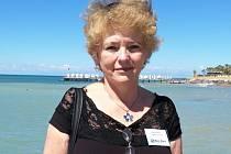 Majitelka cestovní agentury v Lánech Marie Bočková.