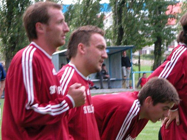 Fotbalisté SK Velké Přítočno si postup ujít už nenechali.