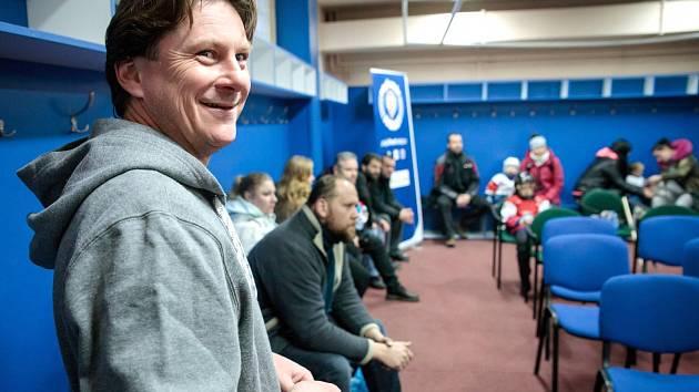 Pojď hrát hokej! ve Slaném akci zaštítil i legendární útočník Martin Procházka